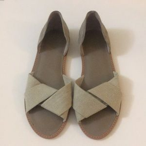 Never worn Vince flat shoes